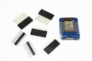 Image 3 - ESP8266 ESP 12 ESP12 WeMos D1 Mini โมดูล Wemos D1 Mini WiFi การพัฒนา Micro USB 3.3 V ขึ้นอยู่กับ ESP 8266EX 11 Pin ดิจิตอล