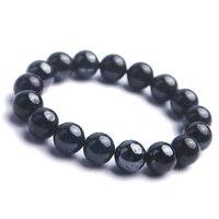 12mm Genuine Natural Sugilite Round Gems Women Man Healing Stone Jewelry Stretch Bracelet Only One