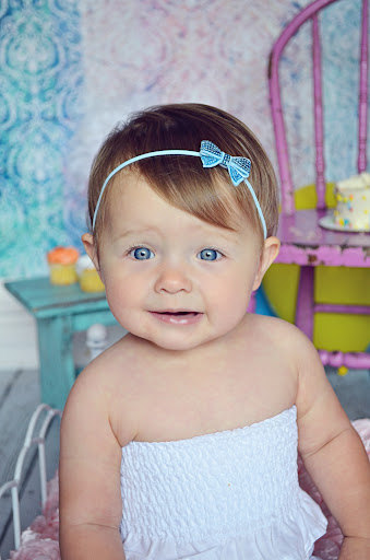 Wholesale Infant Sequin Bow Headband With Thin Elastic Band Toddler Girls Sequin Bow Headbands New Arrival Baby Girls Headband