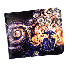 Doctor Who Wallet Men's Short Purse High Quality PU Leather Wallets