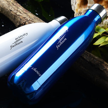 Large Capacity Stainless Steel Sports Water Bottle Strong Vacuum Cup O