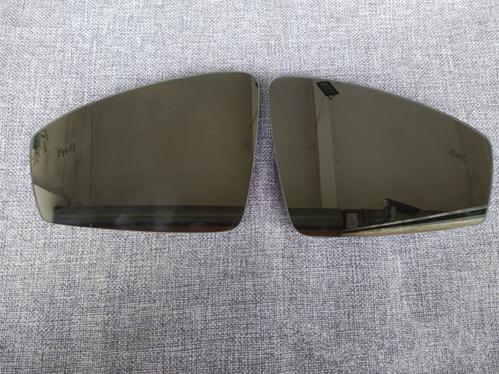 For Volkswagen VW Tiguan L Rear View Mirror Glass with Lane Change Auxiliary Lights