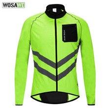 Coat Bike-Clothing Cycling-Jacket Windbreaker Lightweight Rain Reflective Waterproof