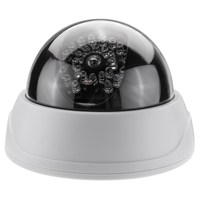 Safurance Fake Dummy Dome Surveillance Security Camera CCTV With IR Infrared LEDs Light Home Security Safety