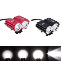 SolarStorm X2 Light 6000LM 2x T6 LED Bicycle Front Light Cycling Lamp Bike Headlight Only Light