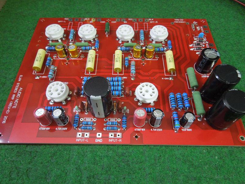 2018 Latest Nobsound Hi-End Stereo Push-Pull EL84 Vaccum Tube Amplifier PCB DIY Kit Ref Audio Note PP Board