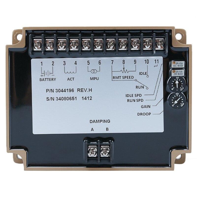 Régulateur de moteur 3044196 groupe électrogène régulateur de vitesse régulateur de carte électronique pour groupe électrogène alternateur moteur