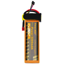 You&me RC Li-Poly Lipo Battery 11.1V 5000mAh 50C-100C 3S For Rechargeable Bateria AKKU DJI Drone Helicopter Quadcopter