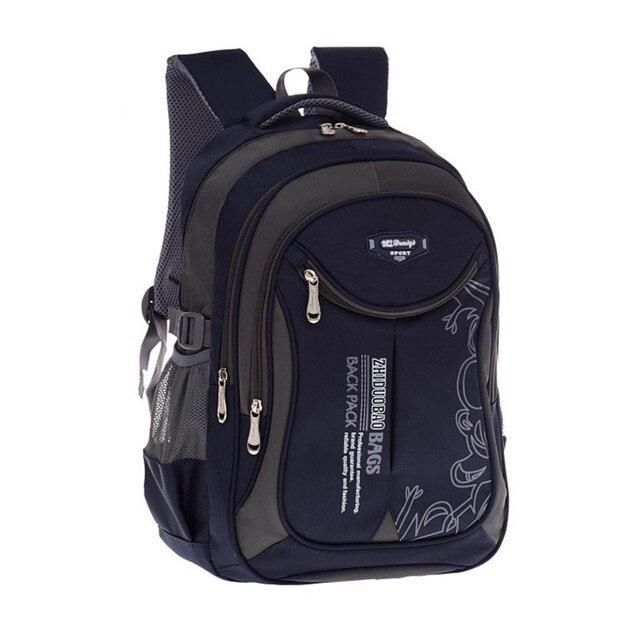 2018 hot new children school bags for teenagers boys girls big capacity  school backpack waterproof satchel 5404f5ac10493