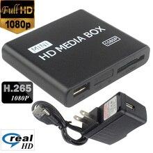 2018 Brand NewMini Full HD 1080p USB External HDD Player With SD MMC Card Reader Host Support MKV HDMI HDD Media Player 12002163 стоимость