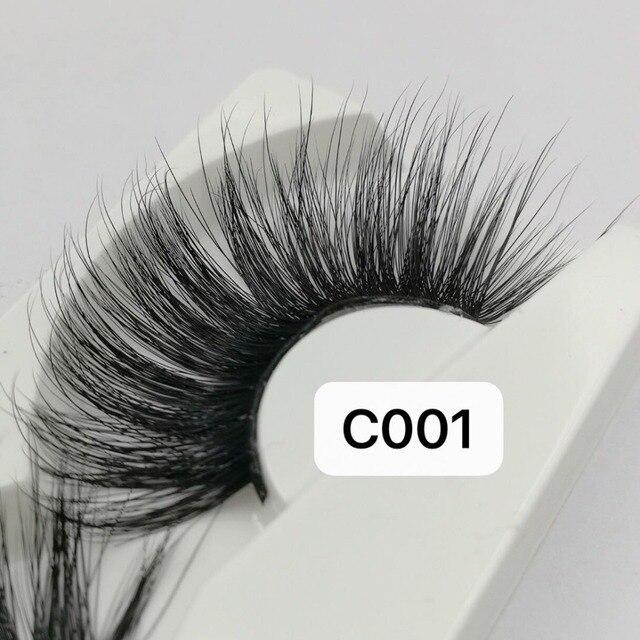 NEW Length 30mm Mink Eyelashes False Eyelashes Crisscross Natural Fake lashes Makeup 3D Mink Lashes Extension Eyelash Beauty 5