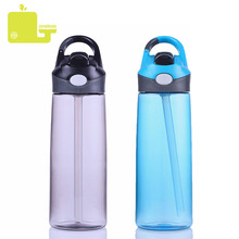 Oneisall 450ML 600ML Plastic Sport Water Bottle BPA Free Straw Type Tumbler Climbing Tour Sports Hiking