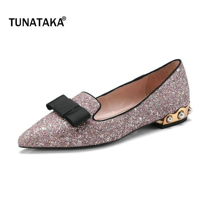 Bing Woman Lazy Pumps Comfort Sqaure Toe Pointed Toe High Heel Shoes Fashion Bow Knot Dress Spring Autumn Shoes Woman Black woman comfort sqaure heel fur genuine leather pumps fashion pointed toe dress lazy high heel shoes woman black wine red