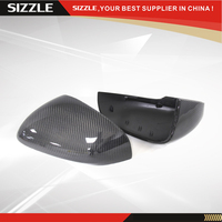 Replacement Style For Jaguar XK XF XJ XKR 2011 2012 2013 2014 Carbon Fiber Car Rear Side View Mirror Cover