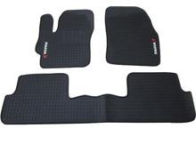 Látex de borracha mats Otomanos especiais para Mazda 6 Mazda 3 importado M3M6 antiderrapante impermeável fácil de limpar