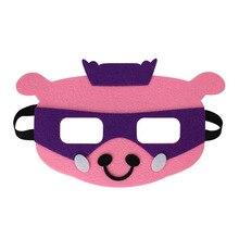 Mask Pig Animal DC Super Hero Batman Kids Boy Girl Costume Star Wars Xmas Avengers DIY Masquerade Eye Cosplay