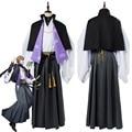 DRB Division рэп битва GENTARO YU для мужчин O косплэй костюм полный набор взрослых Хэллоуин карнавальные костюмы индивидуальный заказ