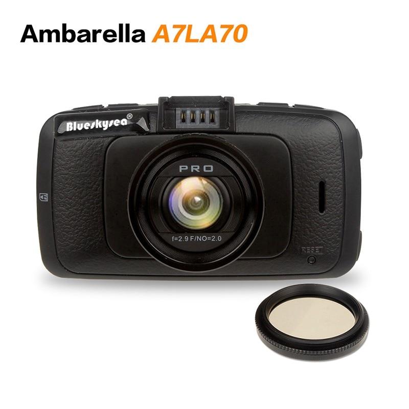 A7810 Car DVR Car font b Camera b font Ambarella A7LA70 with Speedcam FHD 1080p 60Fps