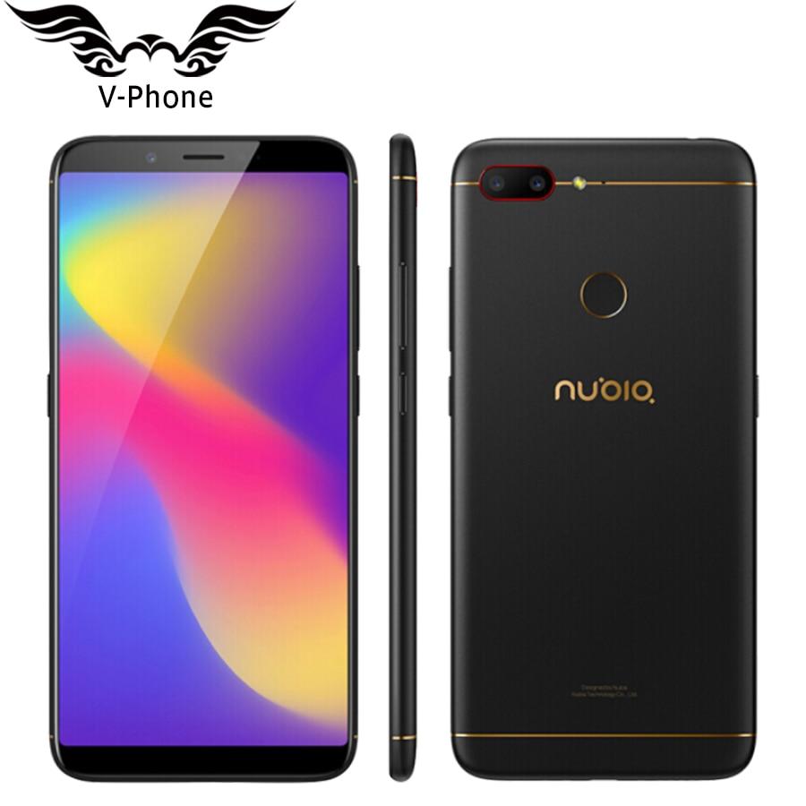 D'origine ZTE Nubia N3 4G LTE téléphone portable 4 GB RAM 64 GB ROM 6.01 pouces Octa Core 5000 mAh double caméra arrière Android OTG smartphone