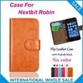 Caliente! 2016 Nextbit Robin caso, 6 colores de la alta calidad cuero Exclusive cubre para Nextbit Robin número de seguimiento