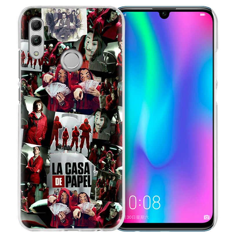 TV La Casa De Papel Case for Huawei Honor 8X Y9 9 10 Lite Play 8C 8S 8A Pro V20 20i 10i Y6 Y7 2019 Hard PC Coque Phone Cover NEW