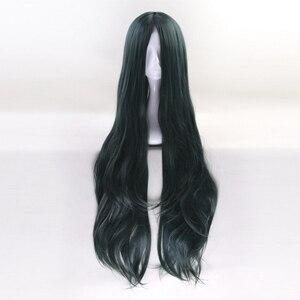 Image 3 - 100cm Korekiyo Shinguji Danganronpa V3: Killing Harmony Cosplay Wig Long Wavy Heat Resistant Synthetic Costume Party Wigs
