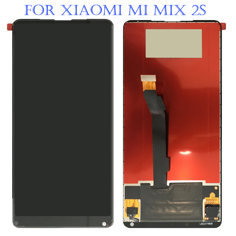 100% Original For Xiaomi Mi Mix 2S LCD Display Digitizer Touch Screen LCD Digitizer Assembly Replacement For Xiaomi Mix 2S 100% Original For Xiaomi Mi Mix 2S LCD Display Digitizer Touch Screen LCD Digitizer Assembly Replacement For Xiaomi Mix 2S