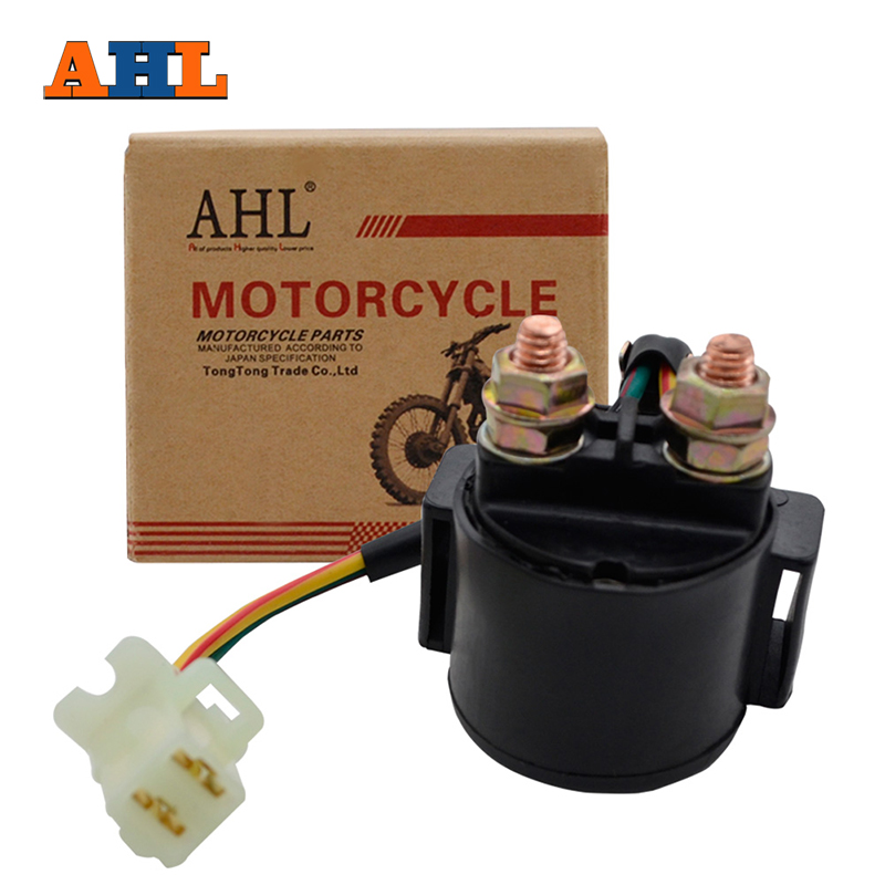 AHL Motorcycle Starter Relay Solenoid For Polaris Sportsman 400 11-14  Ranger 800 Midsize ( 2014 )/ XP ( 2012 ) RZR 900 RZR900 IN