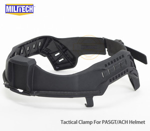 Image 3 - MILITECH NIJ IIIA 3A Tactical Bulletproof Visor for Helmet Ballistic Visor Bullet Proof Mask for ACH PASGT Ballistic Helmet