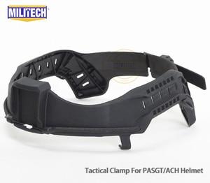 Image 3 - Militech nij iiia 3a 헬멧 탄도 바이저 용 전술 방탄 바이저 ach pasgt 탄도 헬멧 용 방탄 마스크