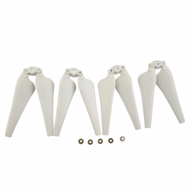 New Folding Propellers for HS100 S70W T35 Four-Axis Aircraft Spare Parts UAV Upgraded Blade White