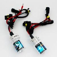 AutoShine 2 PCS High Quality H1 Xenon HID Bulb 55W 12V Car Headlight Lamp 4300K 6000K