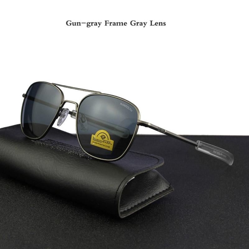 Gun-gray Frame Gray Lens