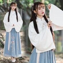 chinese dress hanfu women cheongsam dress traditional chinese clothing for women chinese blouse china costume