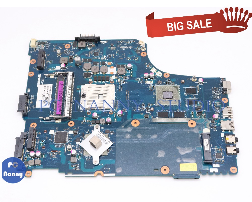 PCNANNY MBRQF02001 MB.RQF02.001 MBDUMMY026 MB.DUMMY.026 For acer aspire 7560 7560G laptop motherboard P7YE5 LA-6991P tested