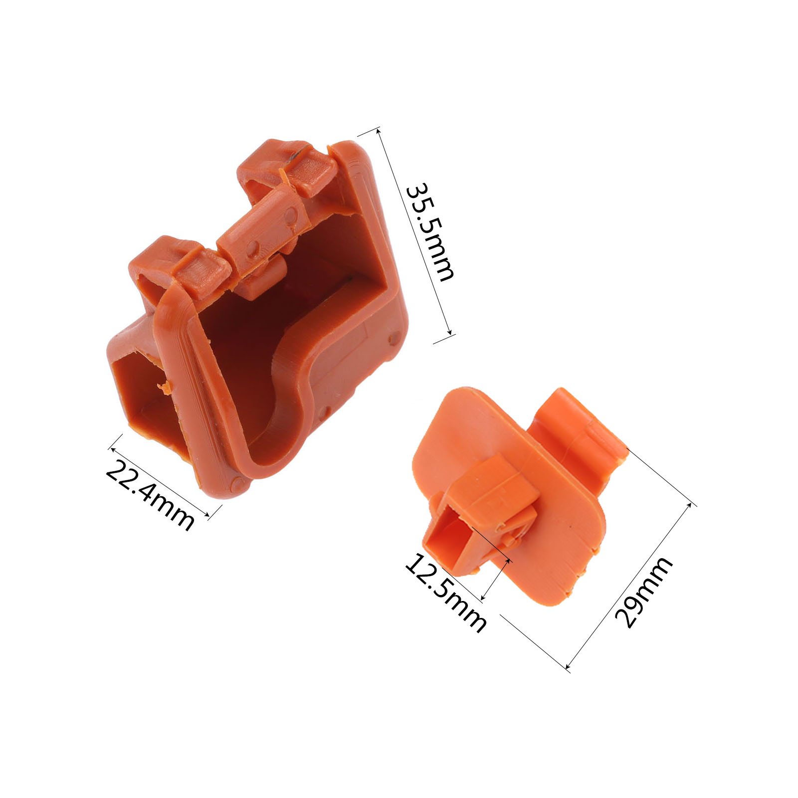Image 2 - 1U0823570A Plastic Car Roomster Hood Bonnet Rod Stay Bracket Buckle Clip For Skoda Fabia Octavia MK2 2004 2012 2013-in Auto Fastener & Clip from Automobiles & Motorcycles