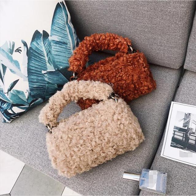 Новое поступление меховая сумка женская меховая сумка-мессенджер модные однотонные меховая сумка женская сумка через плечо регулируемый ремень