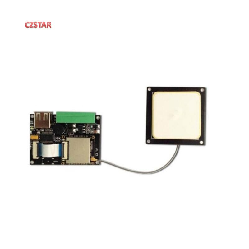 PR9200 chip uhf rfid reader module embedded antenna module with usb rs232 TTL wiegand interface with free 5pcs uhf rfid tag Control Card Readers     - title=