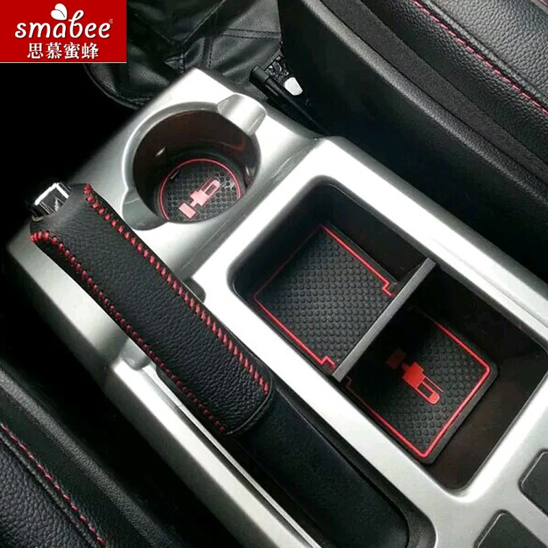 12pcs/set For Hover Haval H6 2011 - 2015,Car Accessories 3D Rubber Mat Non-slip Mat Interior Cup Pad Door Groove Mat Smabee slogan print door mat