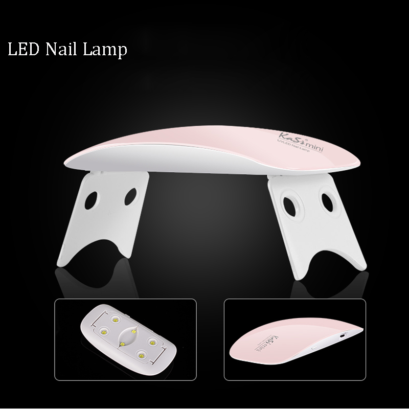 2017 Diseño Portátil Ratón Lámpara de Gel de Uñas 9W Mini USB - Arte de uñas