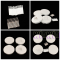 New Chegou 4 pcs Dental Lab Honeycomb Firing Bandejas w/20 Pinos de Zircônia e 20 Pinos De Metal