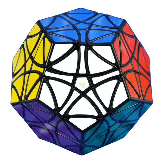 2016 Hot negro MF8 helicóptero Dodecahedron Gigaminx juguetes especiales Magic Cubes Puzzle cubos de velocidad juguetes educativos para niños - 50
