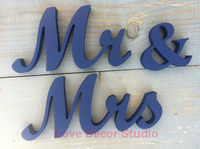 Blue, wedding signs, mrs and Mr and Mr and Mrs Mrs and Mrs wedding glitter wood signs for table, wedding table signs