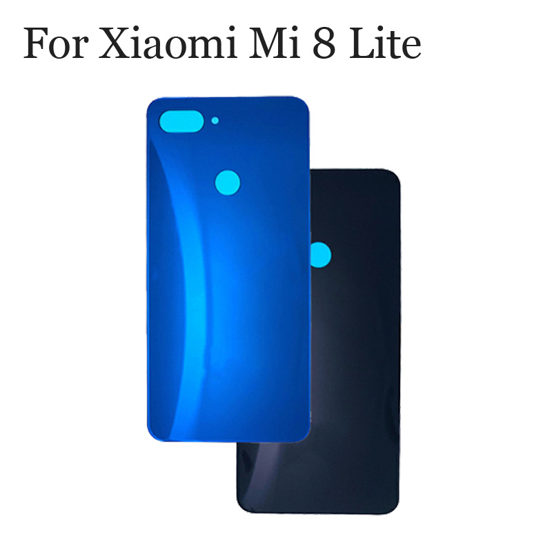 100%New Glass <font><b>Battery</b></font> Back Rear <font><b>Cover</b></font> Door Housing For <font><b>Xiaomi</b></font> <font><b>Mi</b></font> <font><b>8</b></font> Lite 8lite <font><b>Battery</b></font> <font><b>Cover</b></font> For <font><b>Xiaomi</b></font> Mi8 Lite Replacement image