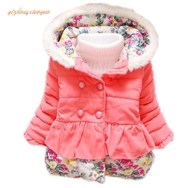 18e3a64a3 Aliexpress.com   Buy Baby Girl s Jackets Winter Jackets Parkas For ...