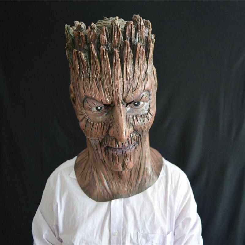 Halloween horror árbol monstruo máscara accesorios de fiesta - Para fiestas y celebraciones - foto 2