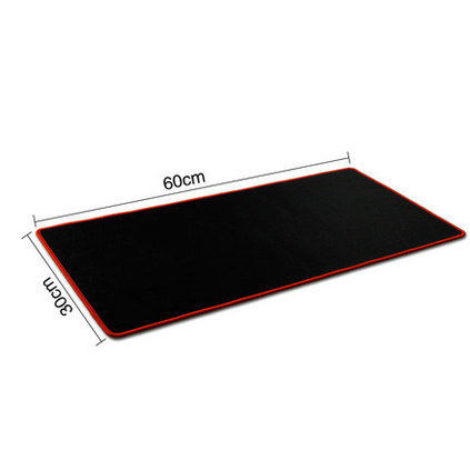 HHD-GJ New Free Shipping Red/Blue/Black Large Laptop Gaming Mouse Pad Keyboard Mat 800*300/600x300/250x300/