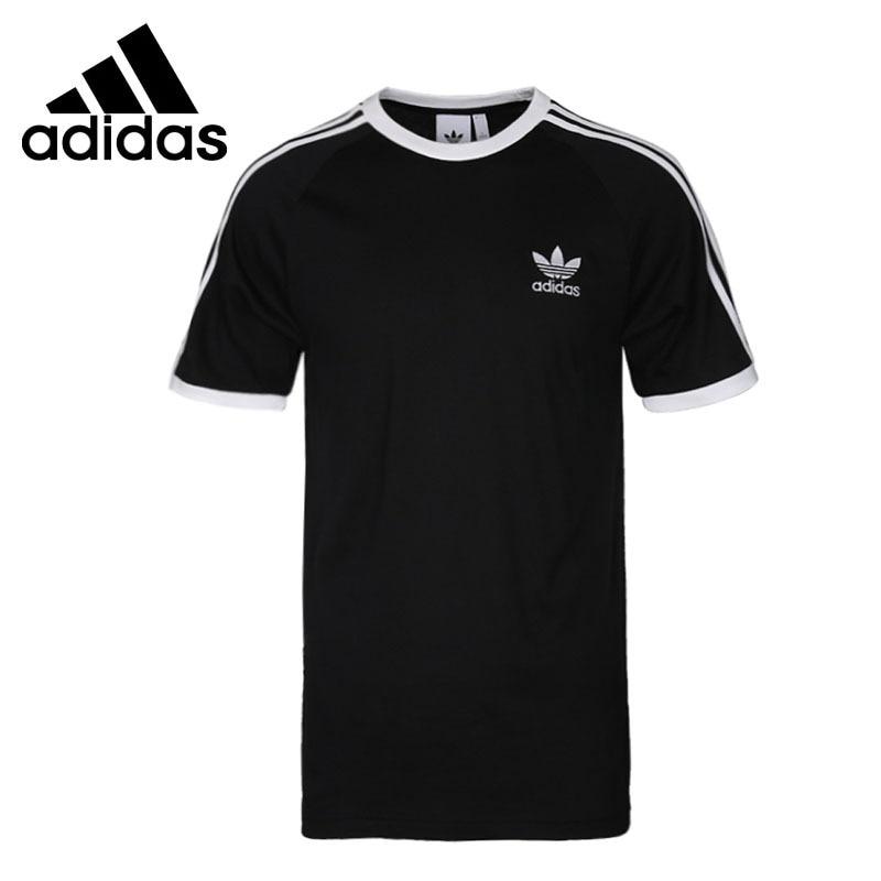 Original New Arrival 2018 Adidas Originals 3-STRIPES TEE Men's T-shirts short sleeve Sportswear original new arrival 2017 adidas originals s s camo color men s t shirts short sleeve sportswear