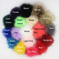 DIY 12pcs Wholesale 10CM Faux Fox Fur Pom Pom Ball for Chaveiro Keychain Bulb Bag Car Ornaments Pendant Key Ring