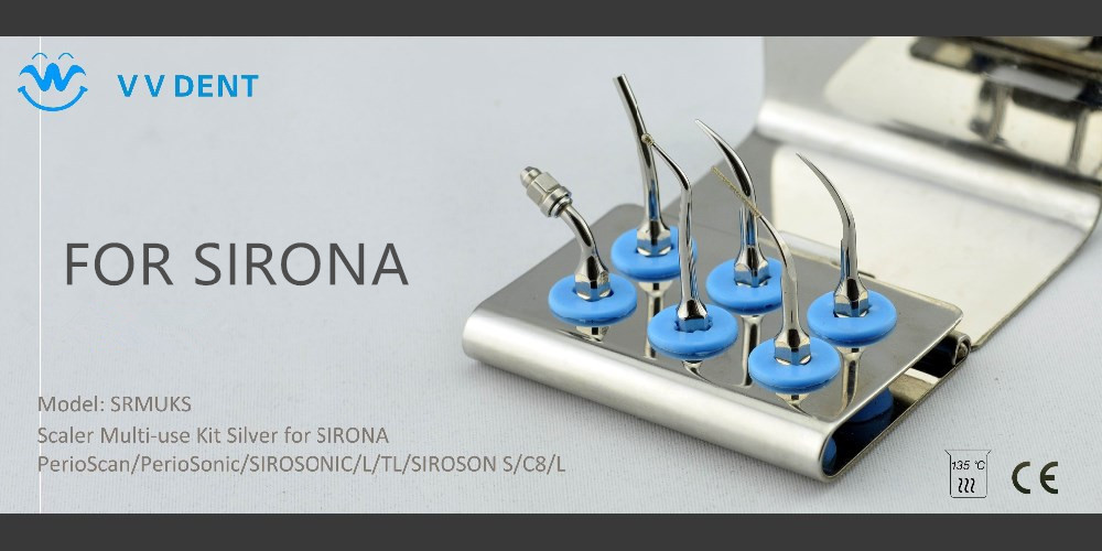 5 pcs SRMUKS Sirona scaler dental multifunctional set for teeth treatment and orthodontic fit PerioSonic SiroSonic SIROSON 2 sets seks satelec endosuccess kit for dental endodontics treatment fit gnatus nsk hu friedy and woodpecker dte scalers